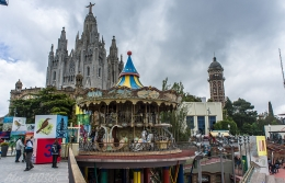"Tibidabo amusement park to feature new ""Virtual Express"""
